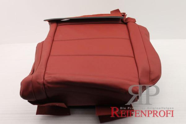 Original Audi A2 8Z Sitzbezug Bezug Leder hinten links rot 8Z0885405G 6Y6 NEU