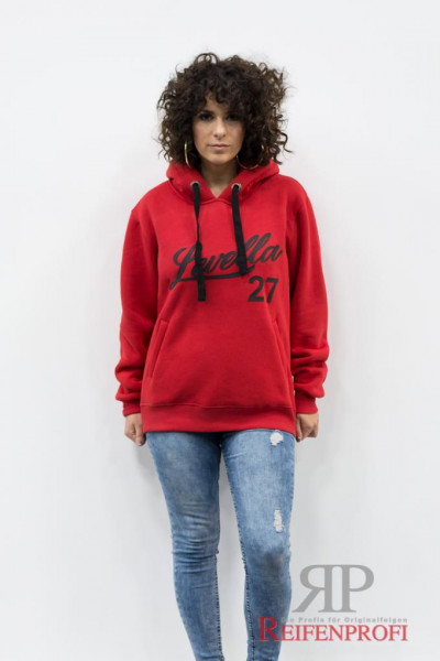 Levella Hoodie Red