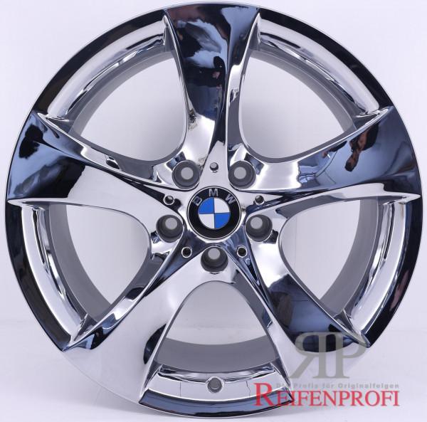 Original BMW 5er GT F07 21 Zoll Alufelgen Styling 311 Felgen Satz Chrom RPGT2