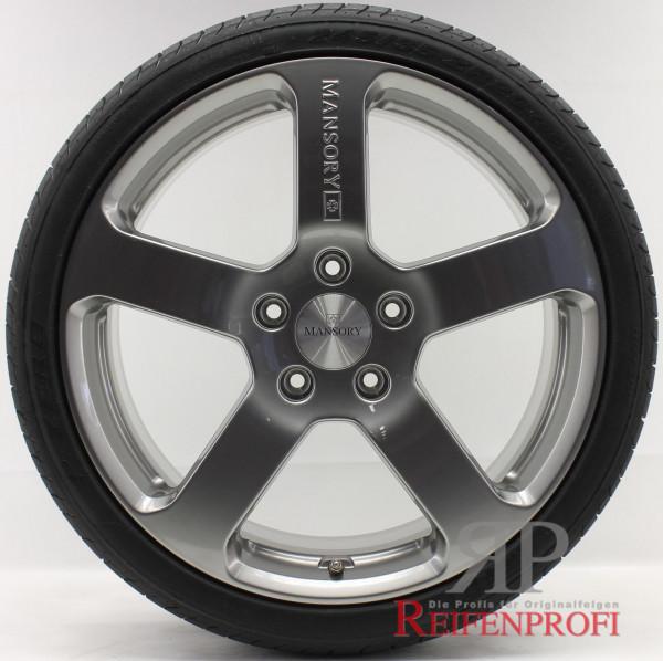 Porsche 911 Turbo 4S Mansory 20 Zoll Sommerräder 235&305 8,5&11x20 NEU Black Chrom