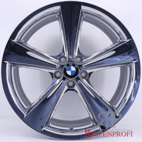 Original BMW X5 E70 F15 M 21 Zoll Felgen Satz Styling 128 6771425 6771426 Chrom RPX1