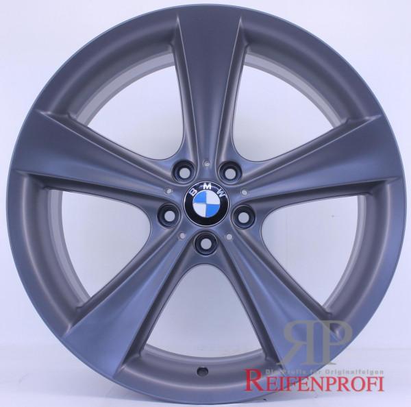 Original BMW X5 E70 F15 M 21 Zoll Felgen Styling 128 6771425 6771426 Titan matt RPX4
