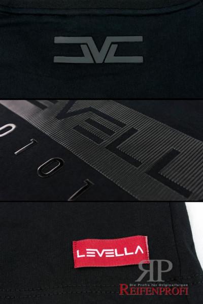 Qualitativ hochwertigs Levella T-Shirt Black Schwarz Größe S M L XL