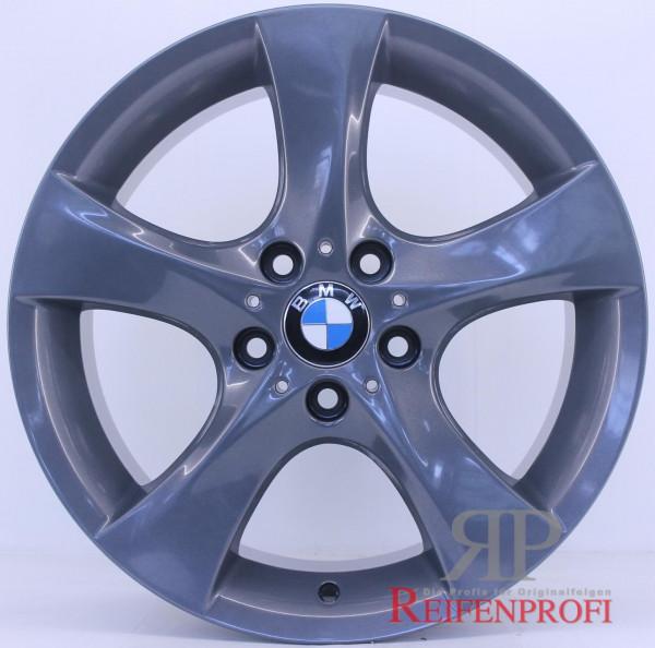 Original BMW 18 Zoll 1er E81 E82 E87 E87 Felgen Satz Styling 311 Titan glänzend RPE5