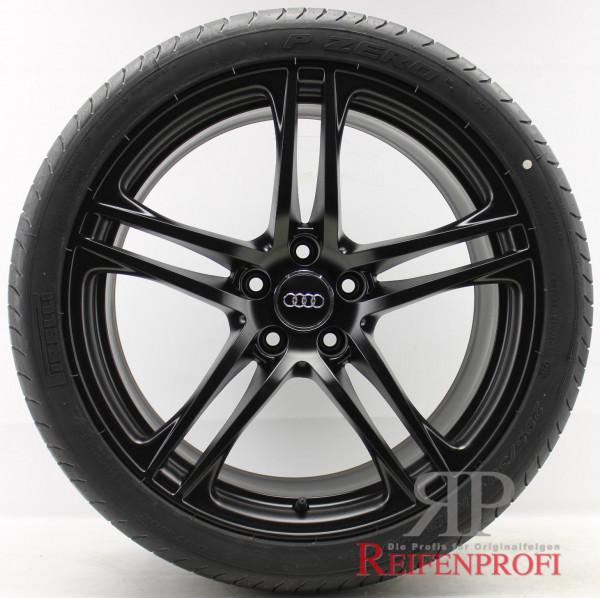Original Audi R8 GT V8 V10 19 Zoll Sommerräder Sommersatz 8,5x19 & 10,5x19 Schwarz matt