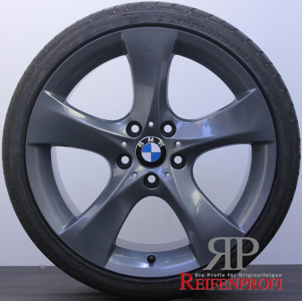 Original BMW 7er Serie F01 F02 F03 21 Zoll Sommerräder VA: 8,5J+245 & HA:10J+275 TG-P