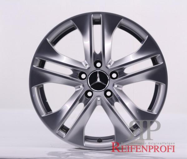 Original Mercedes E-Klasse W207 Einzelfelge A2074010602 17 Zoll MT92