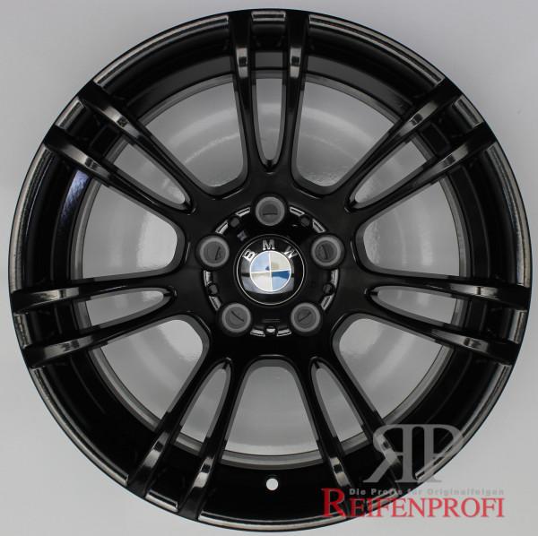 "Original BMW 1er M Coupe M3 3er E9X 5er E6X Felgen Satz 2283905 Styl. M270 18"" Schwarz glänzend"