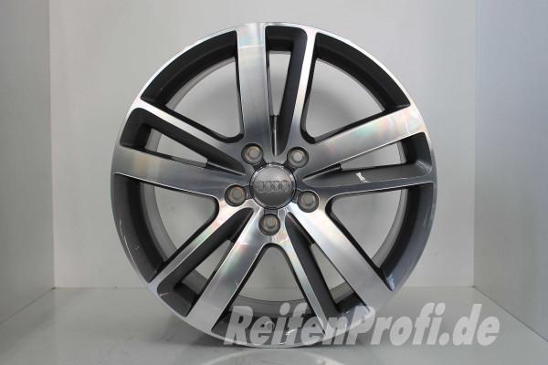 Original Audi Q7 4L V12 TDI 4L0601025BM S line Felgen Satz 20 Zoll NEU 311-A2