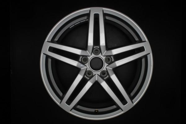 Original Audi A6 4G S-Line Einzelfelge 4G0601025CP 18 Zoll E2