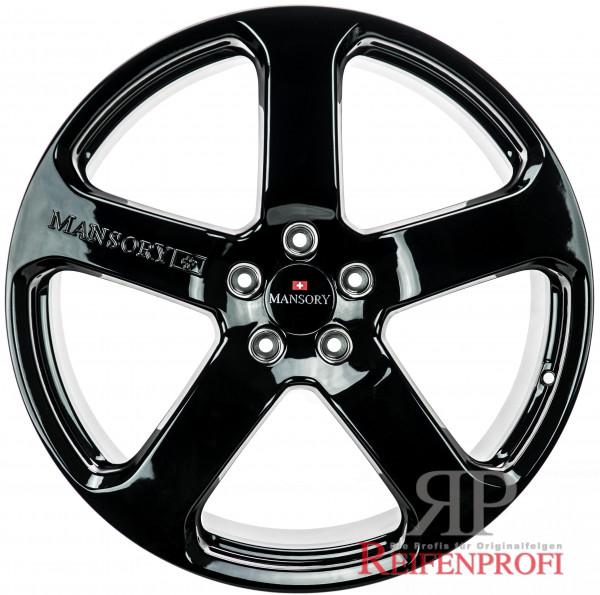 Porsche 911 Turbo 4S Mansory C5 20 Zoll Felgen Satz 8,5J&11x20 Schwarz glänzend NEU