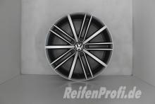 Original VW Tiguan 5N R Line Felgen Satz 5N0601025D-AF New York 18 Zoll 1175-B2