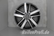 Original Audi Q7 4L V12 TDI 4L0601025BM S line 20 Zoll Felgen Satz 727-A1