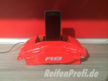 Dockingstation Iphone 5 6 Original Audi R8 RS Bremssattel Geschenk Idee Neu