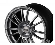 "FONDMETAL 9RR Silver Felge 8,5x19 ET48 Mercedes Audi VW  19"" NEU"