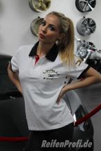Levella Polo Shirt Weiß Gr. L