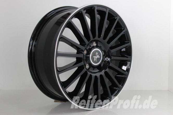 Keskin KT15 Speed Felge 7x17 ET48 Seat Altea Toledo 5P Seat Leon 1P 5F NEU